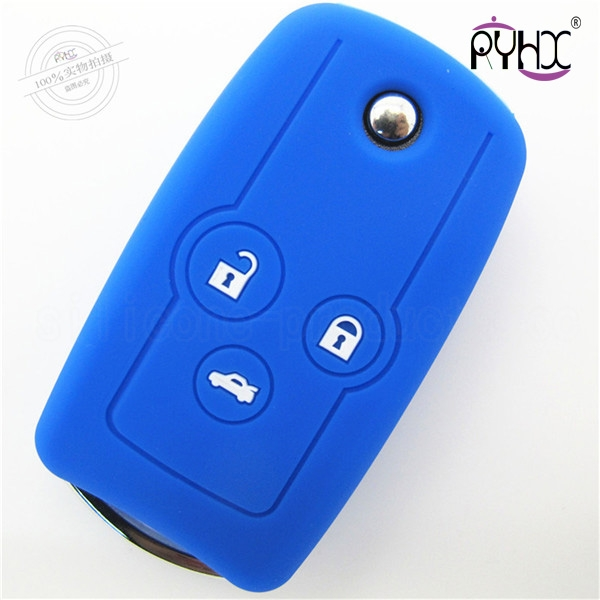 Honda Odyssey car key silicone covers, silicone material key case for Odyssey, car silicone accessories key casing, light key covers for car