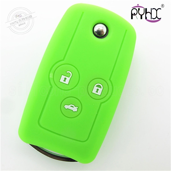 Honda Odyssey car key silicone skin, durable key silicone case for Honda 3 buttons, multi-functions key silicone covers for car, cheap key case