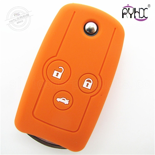 Honda Odyssey key silicone shell, the most popular car key pouch, wholesale silicone key skin protective covers.