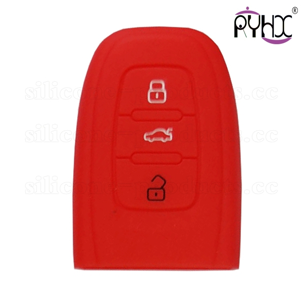 silicone key cover for Audi A5,100%natural sillicone