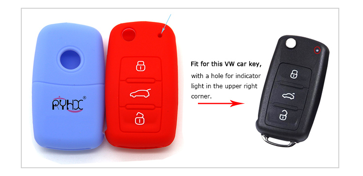 VW-silicone-key-cases